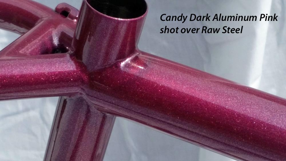 Candy Dark Pink Aluminum All Powder Paints 174